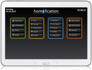 Smart Home Control mit Webinterface DashUI